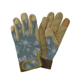 Premium Comfort Gloves Insects Green - Medium