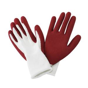 Kent & Stowe Natural Bamboo Gloves Rumba Red - Small