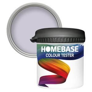 Homebase Matt Colour Paint Tester - Sweet Lavender 90ml