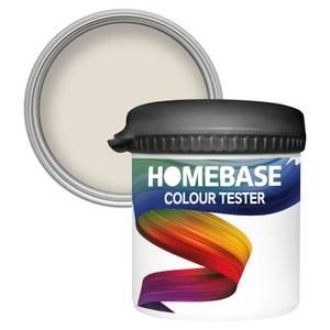 Homebase Matt Colour Paint Tester - Cottonseed 90ml