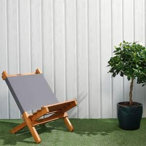 Premium Timber Cladding SertiWOOD Viking Light Grey Secret Fix (6 Pack) 1.72m2