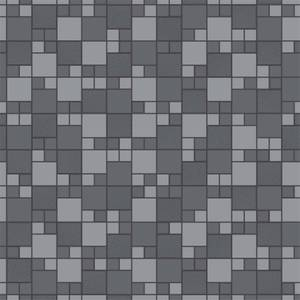 Holden Decor Trivola Tile Embossed Metallic Glitter Charcoal Wallpaper