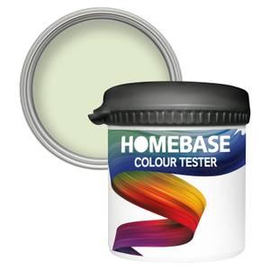 Homebase Matt Colour Paint Tester - Lime Frost 90ml