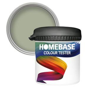 Homebase Matt Colour Paint Tester - Pale Olive 90ml