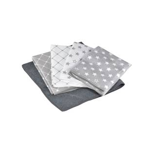 5 pack of Microfibre Patterned Cleaning Cloths