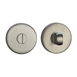 Sandleford Round Bathroom Escutcheon - Brushed Stainless Steel