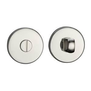 Sandleford Round Bathroom Escutcheon - Polished Stainless Steel