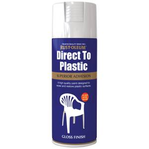 Rust-Oleum Direct to Plastic Spray Paint - 400ml