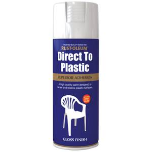 Rust-Oleum Direct to Plastic Spray Paint - 400ml