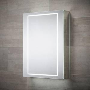 Castor Single Door LED Mirror Cabinet