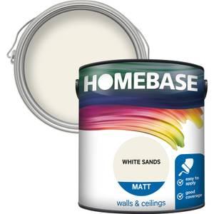 Homebase Matt Paint - White Sands 2.5L