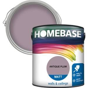 Homebase Matt Paint - Antique Plum 2.5L