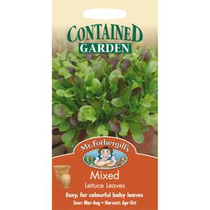 Mr. Fothergill's Mixed Lettuce Leaves (Lactuca Sativa) Seeds