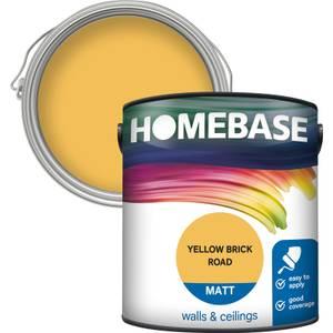 Homebase Matt Paint - Yellow Brick Road 2.5L