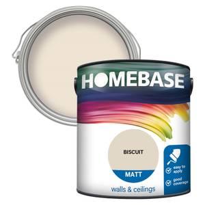 Homebase Matt Paint - Biscuit 2.5L