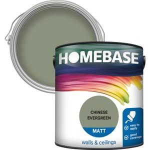Homebase Matt Paint - Chinese Evergreen 2.5L