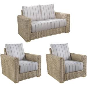 Burford Suite In Linen Taupe