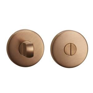 Sandleford Round Bathroom Escutcheon - Brushed Copper Stainless Steel