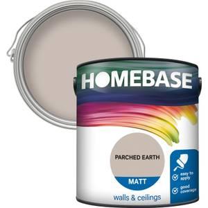 Homebase Matt Paint - Parched Earth 2.5L