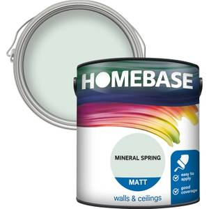 Homebase Matt Paint - Mineral Spring 2.5L