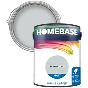 Homebase Matt Paint - Silver Cloud 5L