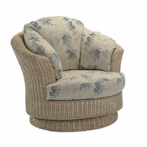Clifton Lyon Swivel Chair In Oasis