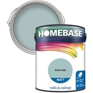 Homebase Matt Paint - Duck Egg 5L