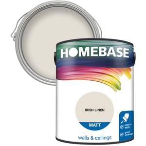 Homebase Matt Paint - Irish Linen 5L