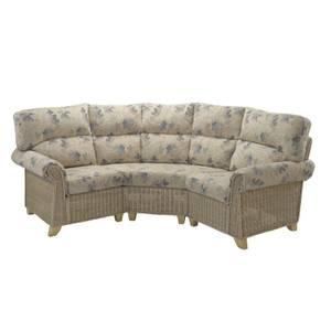 Clifton 3 Piece Modular Sofa In Oasis