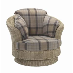 Dijon Lyon Swivel Chair In Highland