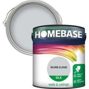 Homebase Silk Paint - Silver Cloud 2.5L