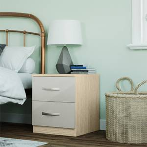 Modular Bedroom Slab Bedside Chest - Cashmere