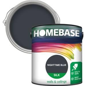 Homebase Silk Paint - Nighttime Blue 2.5L