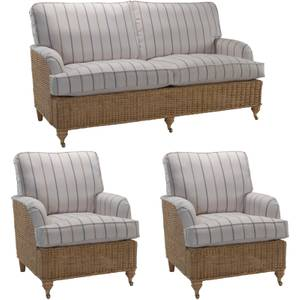 Seville Large Suite In Linen Taupe