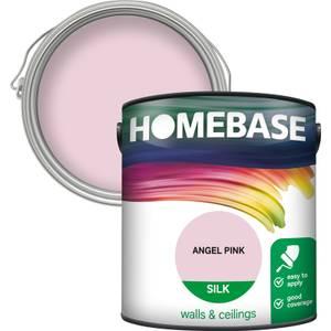 Homebase Silk Paint - Angel Pink 2.5L