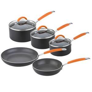 Joe Wicks Easy Release Induction Non-Stick Aluminium Cookware - Set of 5