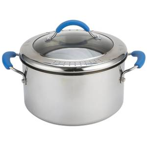 Joe Wicks Quick and Even Induction Non-Stick Stainless Steel Stockpot