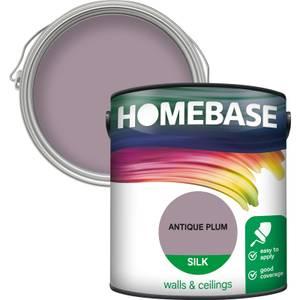 Homebase Silk Paint - Antique Plum 2.5L