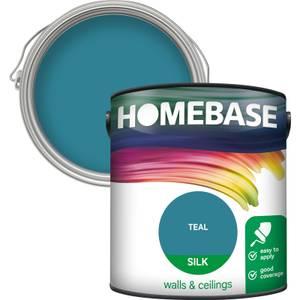 Homebase Silk Paint - Teal 2.5L