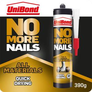 UniBond No More Nails All Materials Quick Drying Adhesive 290g