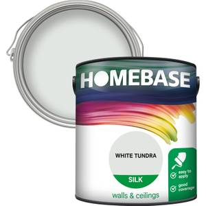 Homebase Silk Paint - White Tundra 2.5L