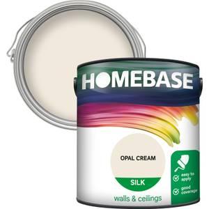 Homebase Silk Paint - Opal Cream 2.5L