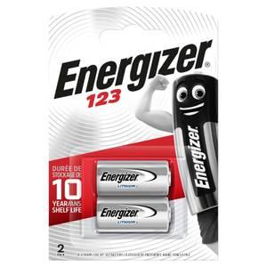Energizer 123 Lithium Photo Batteries - 2 Pack