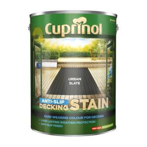 Cuprinol Anti-Slip Decking Stain - Urban Slate - 5L