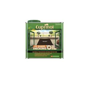 Cuprinol Uv Guard Decking Oil - Walnut - 2.5L