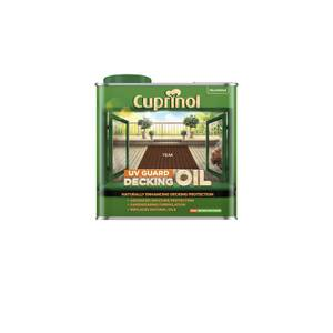 Cuprinol Uv Guard Decking Oil - Teak - 2.5L