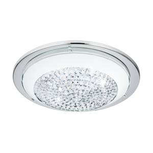 Eglo Acolla Small Flush Light - Chrome