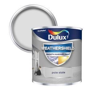Dulux Weathershield Smooth Masonry Paint - Pale Slate - 250ml