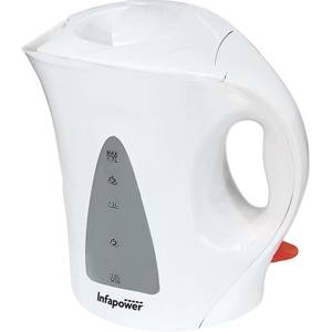 Infapower 1.7L Cordless Kettle - White