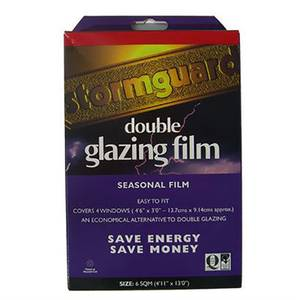 Stormguard Secondary Glazing Film Draught Excluder - 6sq m